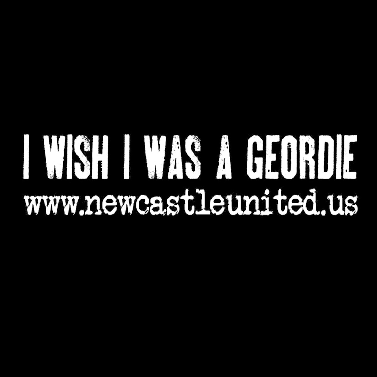 I Wish I Was A Geordie - The Blog of Newcastle United in the US